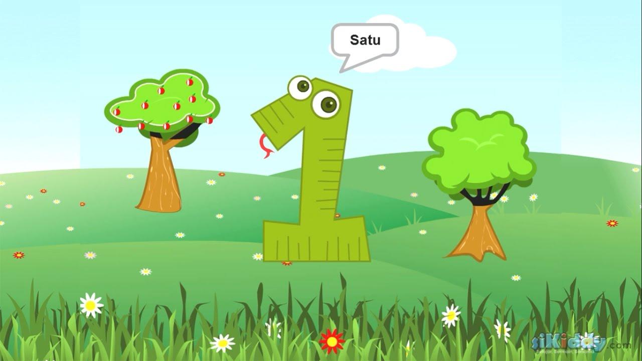 Belajar Angka Untuk Anak-Anak Dengan Animasi Yang Lucu ...