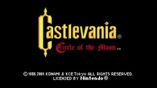 "Castlevania - Circle of the Moon / Thief Mode ¯\_(ツ)_/¯ ""Game Boy Advance"""