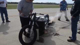 ECTA Ohio Mile 9/27/2014 Steam Motorcycle