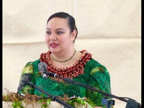 HRH Princess Angelika Lātūfuipeka | Liahona High & Middle Schools | Youth Empowerment Visitation
