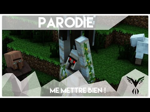 "Parodie MineCraft - Dynamyk | Me Mettre Bien ! ( "" The Lazy Song "" )"