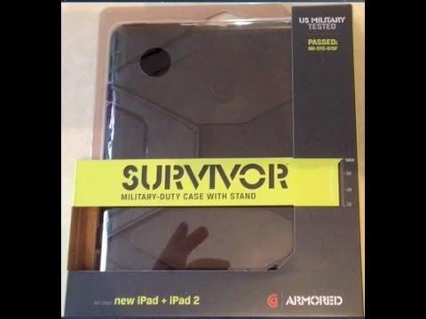 Griffin Survivor Military Duty Case for iPad 3rd Gen & iPad 2