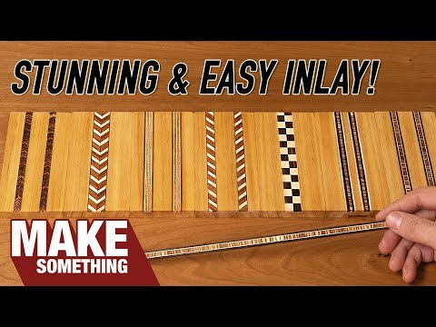 How to Make Your Own Inlay Banding and Enhance Your Woodworking