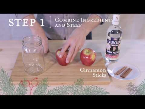 Ho-Ho-How to Make an Apple Pie Moonshine Gift