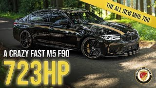 A crazy fast M5 F90 // The all new MH5 700 F90