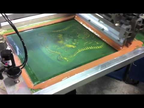 Discharge Water Based Screen Printing
