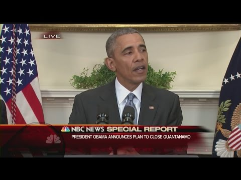 President Obama announces plan to close Guantanamo Bay
