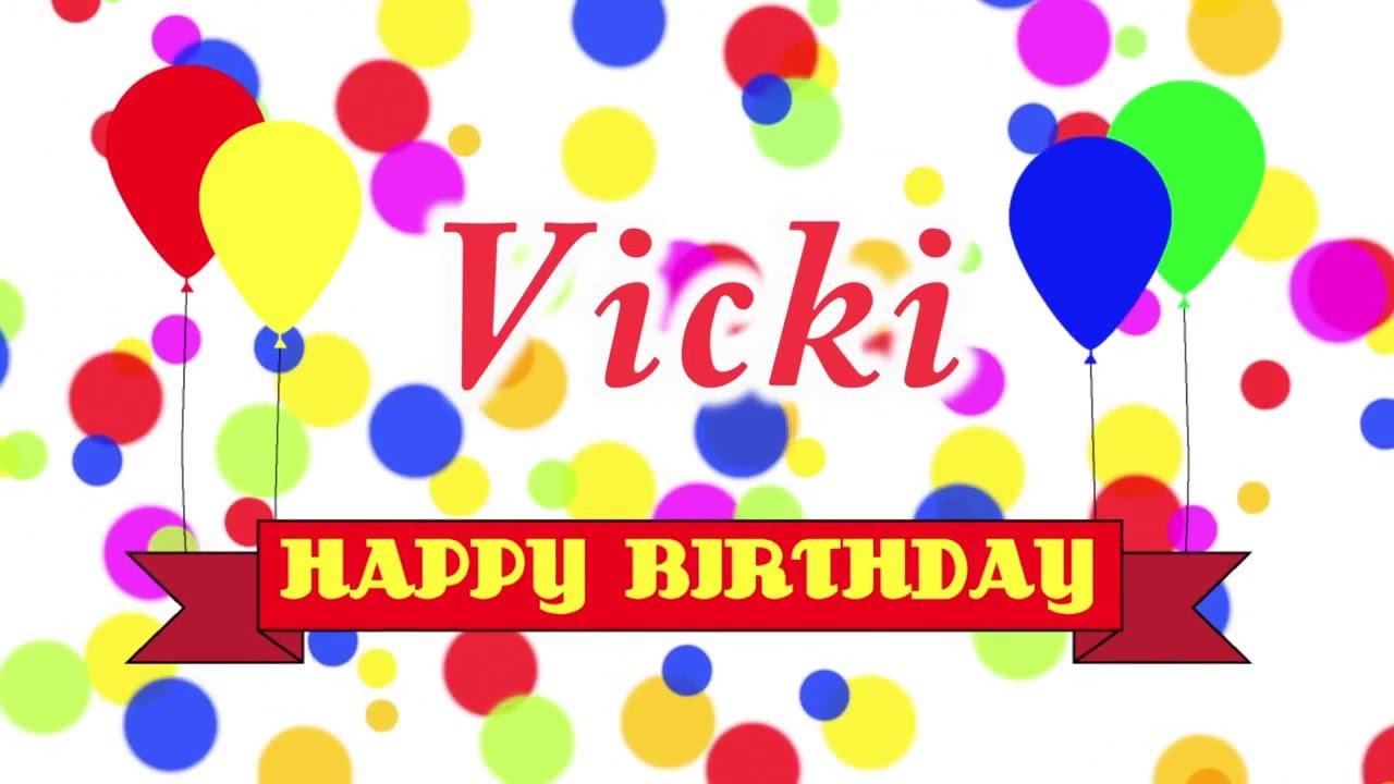 Happy 21st Birthday Vicki Song