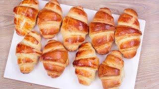 চলয় করসনট রসপ  চকলট করসনট  বচচদর টফন রসপ  Easy Croissant Recipe