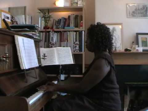 Adult Piano Learner Vanessa played The Lord's my Shepherd