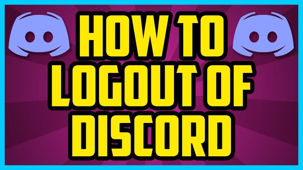 Discord Web Log Out