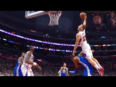 Blake Griffin MURDERS Kevon Looney with Nasty Dunk During Clippers vs Warriors