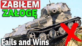 ZABIŁEM MU ZAŁOGĘ - Fail Compilation - World of Tanks