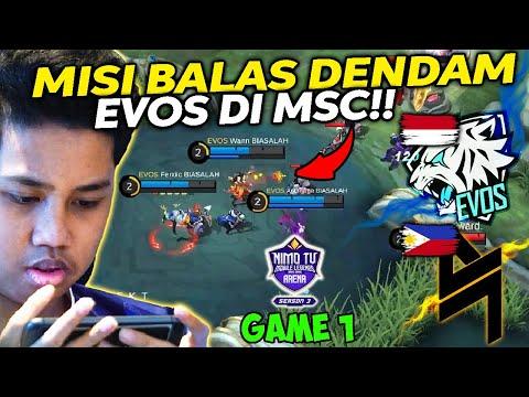 EVOS LEGENDS VS BLACKLIST MATCH 1 !!! MISI PEMBALASAN DENDAM EVOS DI MSC !!! INDO PRIDE !!! NMA !!