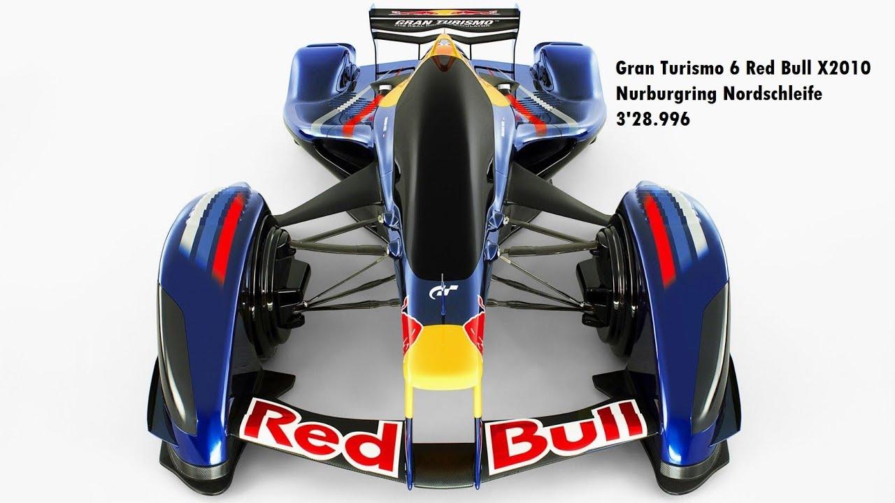 Gran Turismo 6 Red Bull X2010 Nurburgring Nordschleife 3'28.996 ...