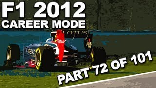F1 2012: Career Mode Walkthrough (72/101) - Hungarian Grand Prix (SEASON 4/LOTUS) - HD