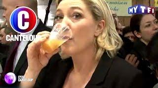 C'est Canteloup - Marine Le Pen a un penchant pour l'alcool