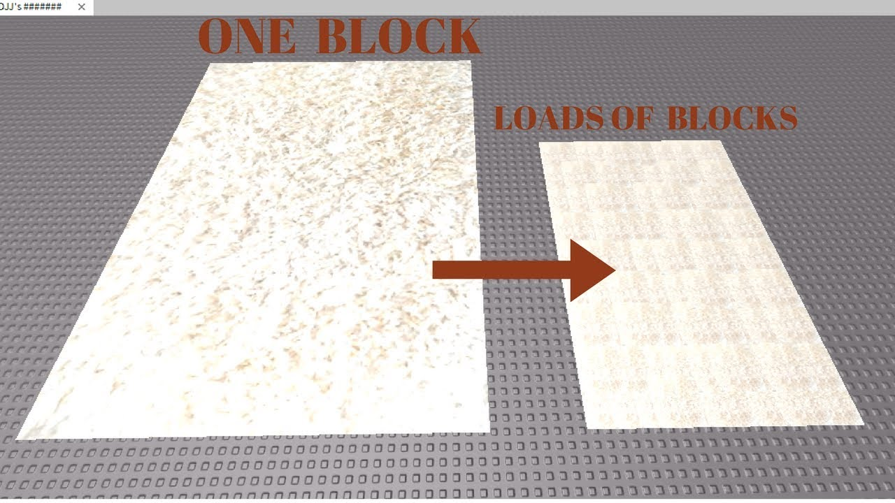 Roblox Carpet Texture Code How To Build An Effective Floor Using Decals Roblox Studio Tutorial Youtube