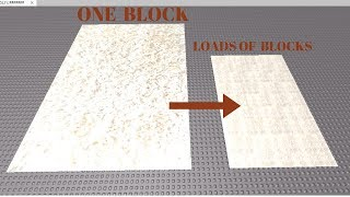 How To Build An Effective Floor Using Decals | Roblox Studio (Tutorial)