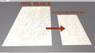 Wie man eine effektive Boden mit Aufklebern bauen | Roblox Studio (Tutorial)