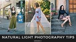 Natural Light Photography Tips v2 - Good Light vs Great Light - Shot on the Sony A6300