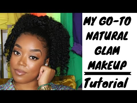 My GO-TO NATURAL GLAM MAKEUP| BEGINNER FRIENDLY| STEP BY STEP TUTORIAL thumbnail