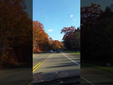Fall Foliage in Pennsylvania - Driving Rt 6