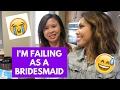 I'M FAILING AS A BRIDESMAID - BRIDAL SHOWER GAMES - The Bride to Be | Vlog 047