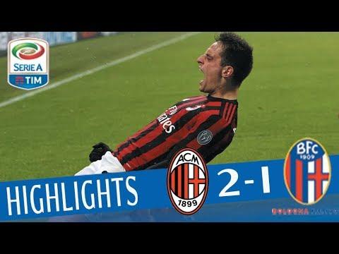 Milan - Bologna 2 - 1 - Highlights - Giornata 16 - Serie A TIM 2017/18