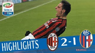 Download Video Milan - Bologna 2-1 - Highlights - Giornata 16 - Serie A TIM 2017/18 MP3 3GP MP4