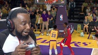 Dwight Howard Has No Rim Protection! Lakers vs Wizards NBA 2K19 MyCareer Ep 45
