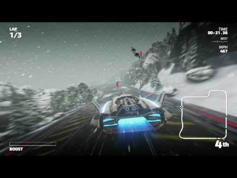Fast RMX - Championship Mode - Indium Cup (Subsonic)