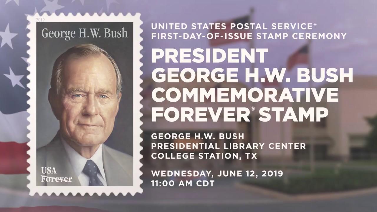 USPS George H W  Bush Forever® Stamp