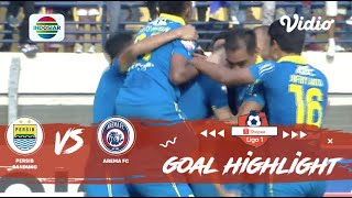 Persib Bandung (3) vs (0) Arema FC - Goals Highlights | Shopee Liga 1