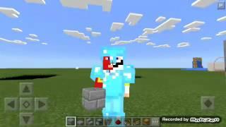 Minecraft tutorial ke 4 cara membuat pin/kode pintu#4