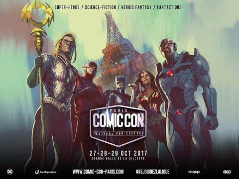 Facebook Live : Le Comic Con Paris dévoile son affiche !