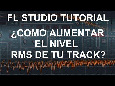 FL Studio Tutorial: Como subir el nivel RMS (El volumen real/promedio de tu track)