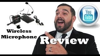 Best Wireless Lavalier Microphone for beginner video makers
