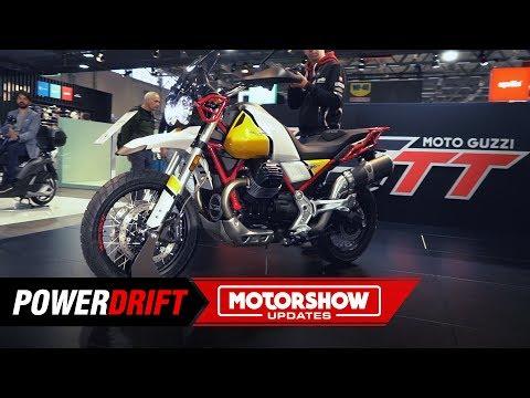 Moto Guzzi V TT : Straight outta PUBG : PowerDrift