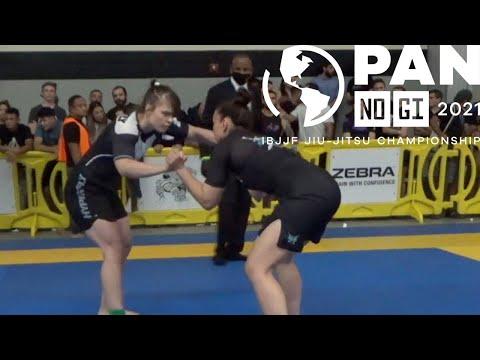 Maria Malyjasiak v Emilly Alves Silva / Pan No-Gi 2021