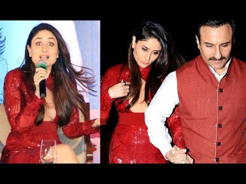 Kareena Kapoor Stops The Interview When Asked About Taimur Ali Khans Birthday Party