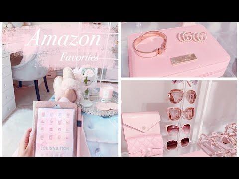 my-amazon-favorites!-pink-girly-fashion,-beauty-&-decor