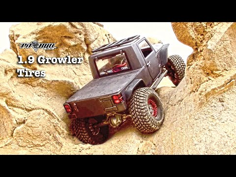 Pit Bull RC - 1.9 Growler AT Tires - Rock Crawling - Corona Del Mar Beach