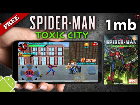 Spider-Man: Toxic City For Android || 1mb