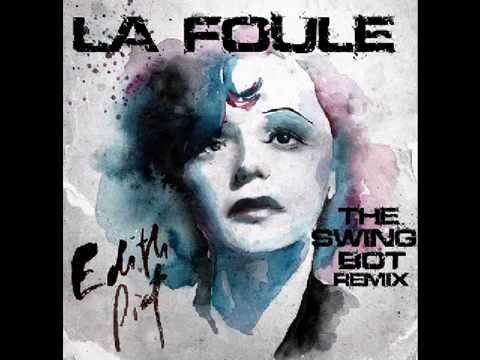 """Francuskie piosenki #4 - """"La foule"""" - nagłówek - Francuski przy kawie"""