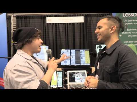 NAMM Show 2020 Interview Anaheim