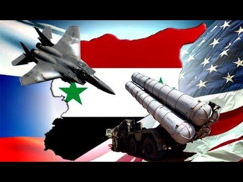 Trump USA Zaatakowali Syrię - Francja i Wielka Brytania Wspierają Rosja na razie MILCZY - Komentator