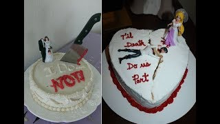 Hilarious Divorce Cakes For The Newly Unwed