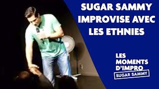 Humour: Sugar Sammy improvise avec les ethnies (en rodage).