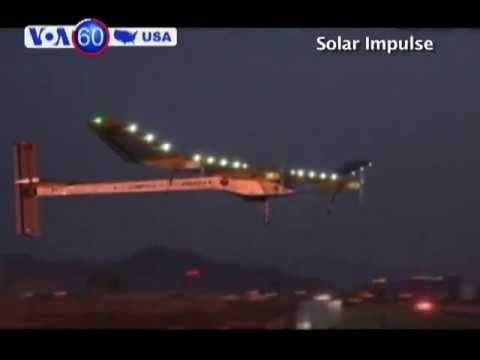 Máy bay năng lượng mặt trời cất cánh tại Phoenix